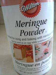 Container of Meringue Powder