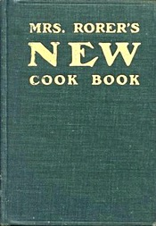 Mrs Rorer's New Cook Book 1902