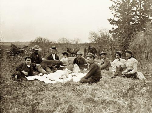 Prairie Picnic circa 1906