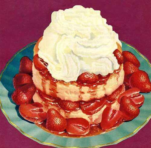 Old Fashioned Strawberry Shortcake Dessert
