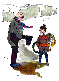The Old Man's Hat Nursery Rhyme Illustration
