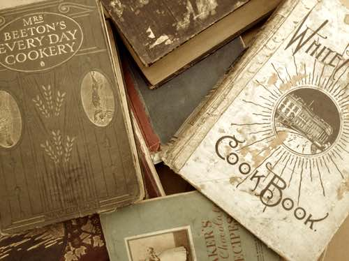 Out of Print Cookbooks