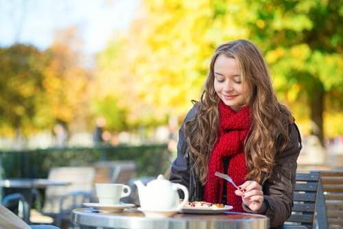 Parisian Outdoor Cafe