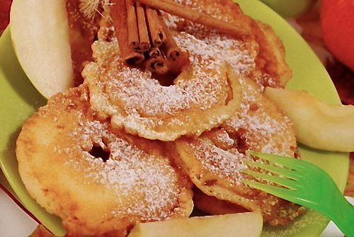 Traditional Pennsylvania Dutch Apple Fritters