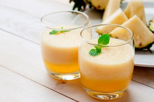 Pineapple Puff Drink