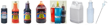 Selection of Soda Fountain Supplies