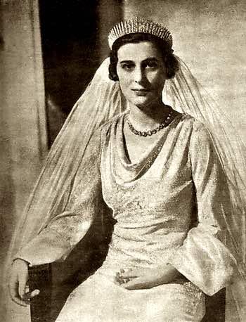 Wedding of Duchess of Kent, HRH Princess Marina