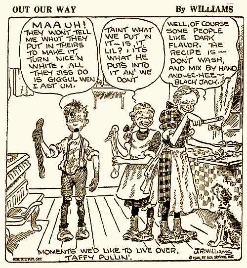 Out Our Way Cartoon 1928