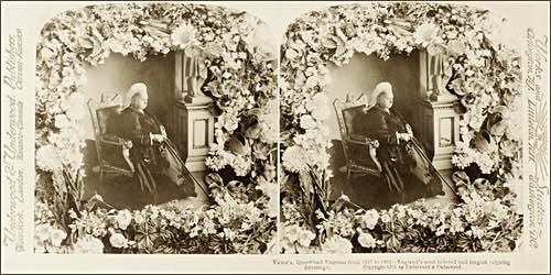 Queen Victoria Stereoscopic Portrait