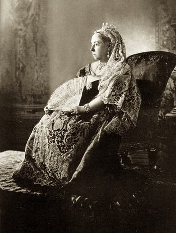 Her Majesty Queen Victoria Photographed For Her Diamond Jubilee Year, 1897