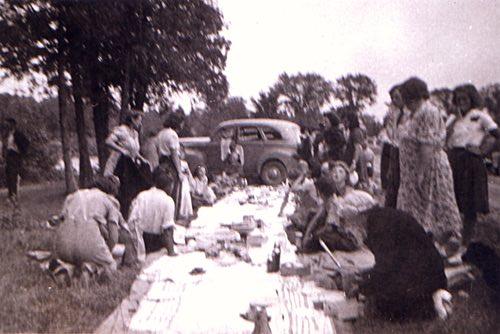 Otonabee Range Pals Community Picnic, Rice Lake, Ontario, circa 1950