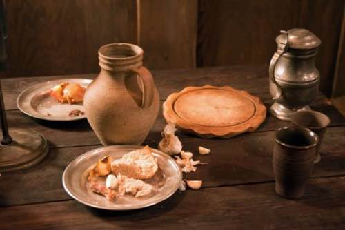 Renaissance dessert recipes make authentic sweetmeats renaissance dessert recipes renaissance table setting with water jug and plates forumfinder Choice Image