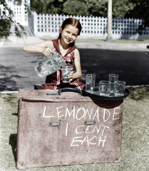 Old Time Lemonade Stand