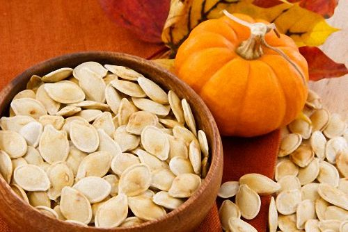 Pumpkin Seeds Make An All-Natural Snack After They've Been Roasted