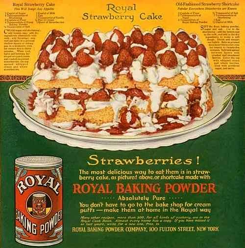 Royal 1919 Strawberry Shortcake Recipe