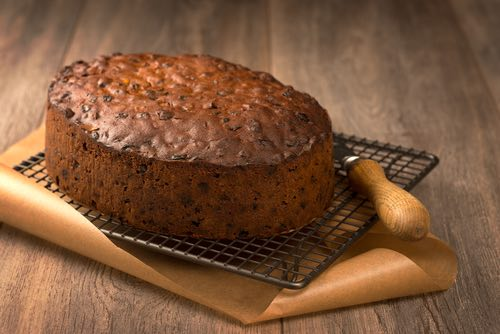 Fruitcake Made from Old Fashioned Scripture Cake Recipe