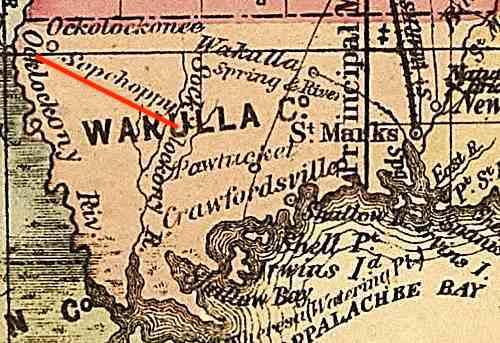 Sopchoppy, Florida - 1874
