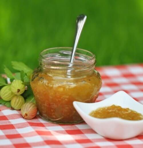 South African Cape Dutch Gooseberry Jam Preserve