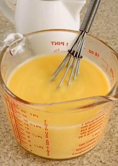 Stirring a Homemade Custard