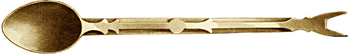 Brass Sucket Fork