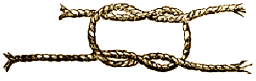 Illustration of the Reefing Knot