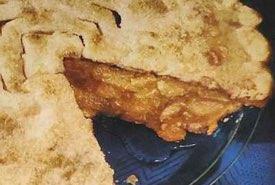 Apple Pie in a Glass Pie Plate
