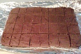 Tray of Homemade Fantasy Fudge
