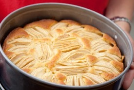 Enjoy German Apple Cake Warm from the Oven