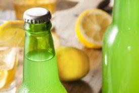 Bottles of Homemade Ginger Beer