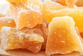Pieces of Old Time Ginger Candy