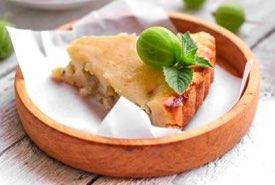 Slice of Gooseberry Pie