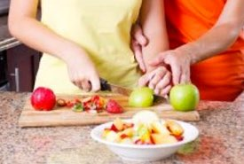 Cutting Apples for Baking