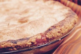 Dessert Pie Warm from the Oven