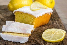 Homemade Lemon Cake with Tangy White Icing
