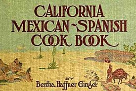 Cover of California Mexican Spanish Cook Book