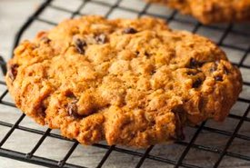 Old Time Oatmeal Raisin Cookie Fresh from the Oven