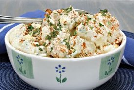 Bowl of Homemade Potato Salad