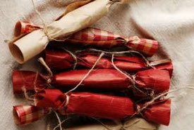 Gift Wrapped Pieces of Old Time Pull Taffy