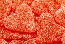 Renaissance Era Heart-Shaped Leach Candy