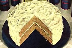 Old Fashioned Spice Cake with Icing