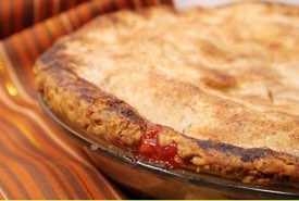 Strawberry Pie with Top Crust