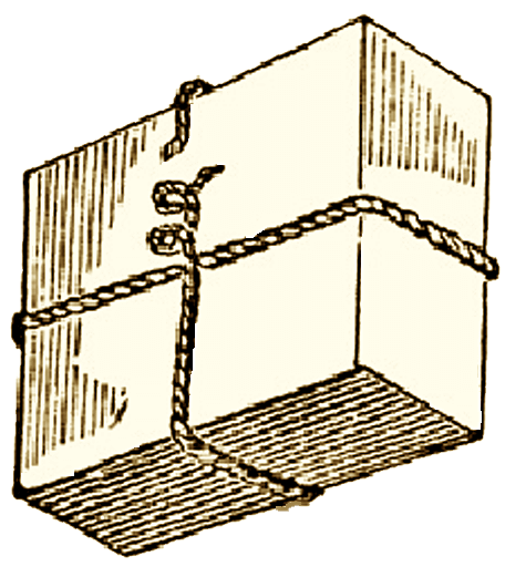 Illustration of a Parcel Knot