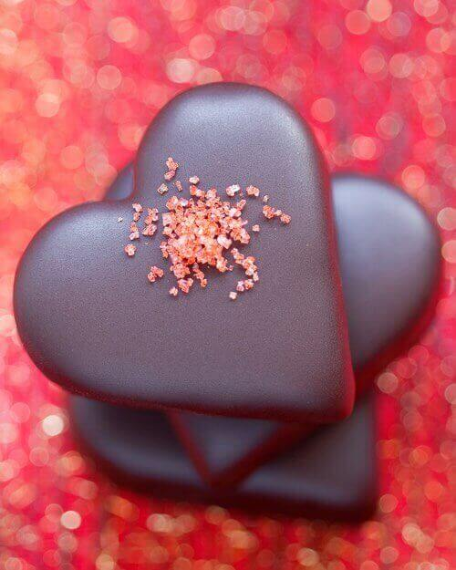 Homemade Valentine Chocolates