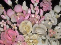 Colorful Shell Craft Flowers