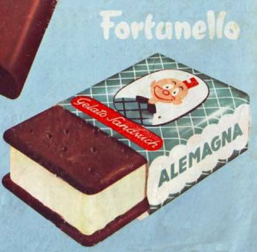 Vintage Italian Ice Cream Bar