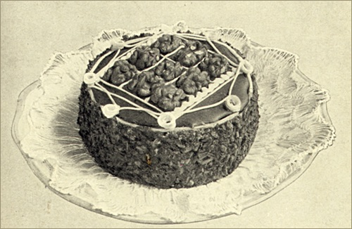 Traditional Walnut Layer Cake