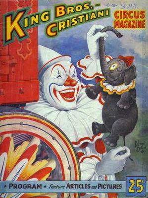 1953 Circus Magazine