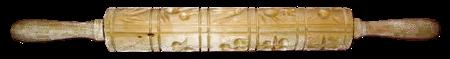 Wooden Springerle Roller or Rolling Pin