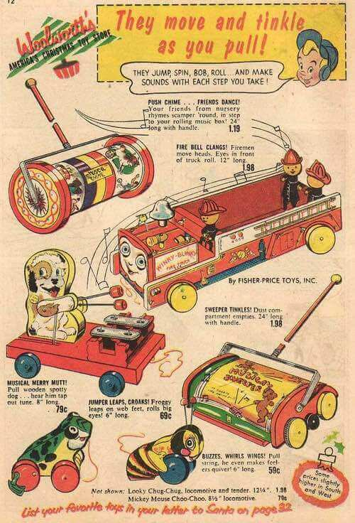 1950s Wooden Toys