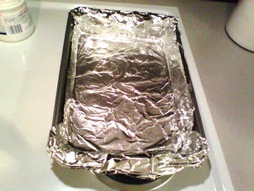 Aluminum Foil Lined Pan
